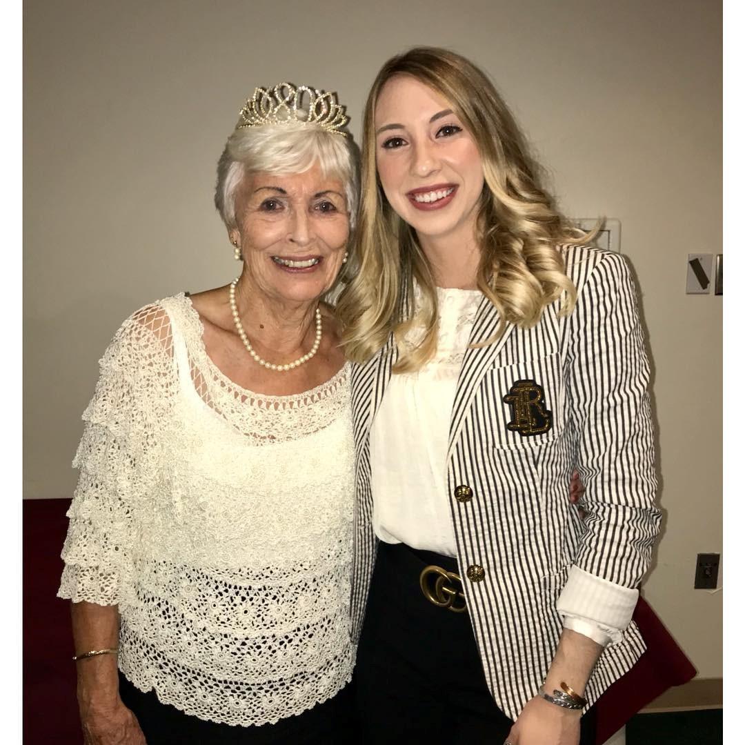 Karlie Fisher and her grandma