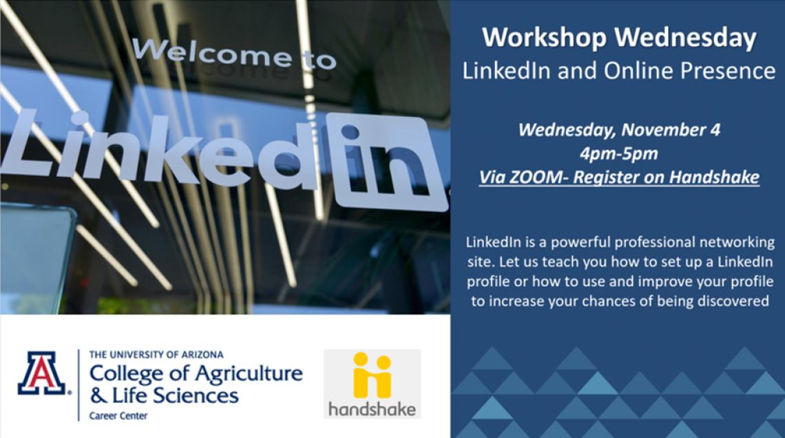 Workshop LinkedIn and Online Presence