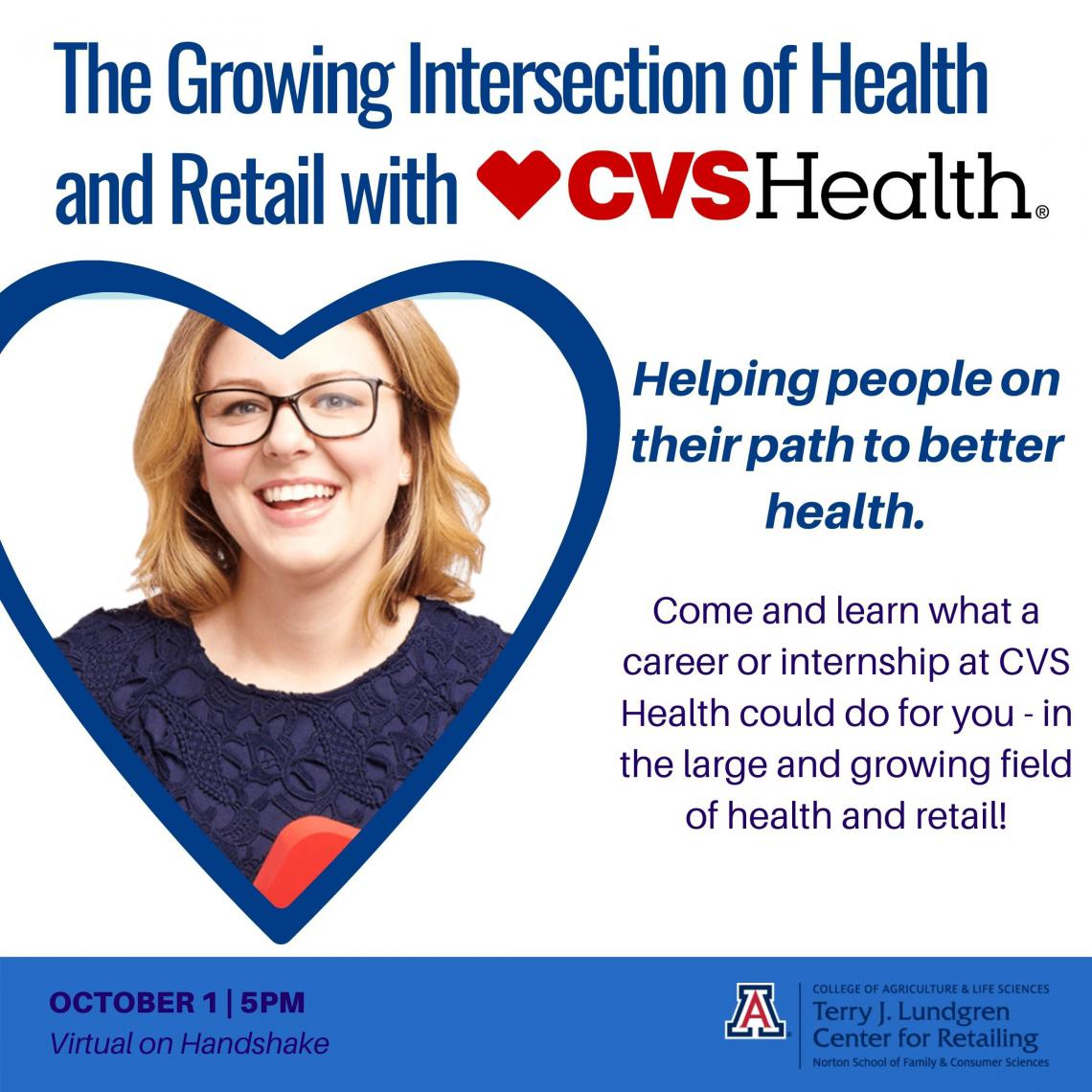 The Growing Intersection of Health and Retail with CVS Health flyer