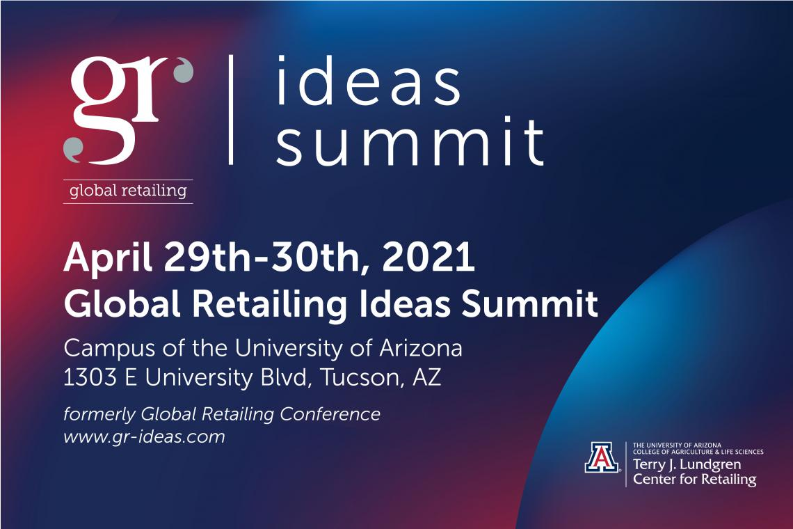 Global Retailing Ideas Summit Flyer