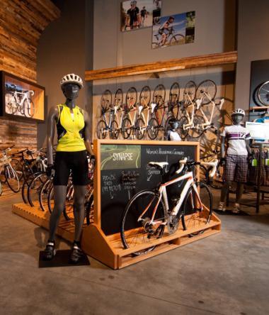 Winston Retail display for REI